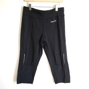 Marmot Fitted Workout Cropped Capri Pants Small
